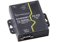 Brainboxes 1 Port RS232 PoE Ethernet to Serial Adapter