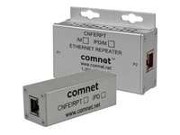 ComNet 1 Channel 10/100 Mbps Ethernet Repeater with 60 W PoE Pass-Through