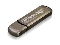 Kanguru Defender3000 FIPS 140-2 Certified Level 3, SuperSpeed USB 3.0 Secure Flash Drive, 64G