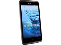 """Acer Liquid Z410 16 GB Smartphone - 4.5""""LCD FWVGA 480 x 854 - ARM Cortex A53Quad-core (4 Core) 1.30 GHz - 2 GB RAM - Android 4.4 KitKat - 4G - Black"""