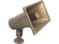 AmpliVox S1271 Indoor/Outdoor Wall Mountable, Pole Mount Speaker - 16 W RMS - Tan