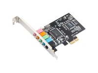 SYBA Multimedia 5.1 Channel PCI-e x1 Sound Card