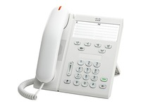 Cisco 6911 IP Phone - Refurbished - Wall Mountable - Arctic White