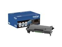 Brother Genuine TN820 Mono Laser Black Toner Cartridge