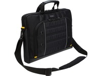 """Targus Drifter Carrying Case (Briefcase) for 15.6"""" Notebook - Black, Gray"""