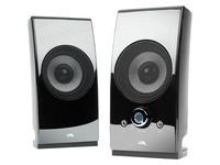 Cyber Acoustics CA-2027 Speaker System - 5 W RMS - Glossy Black