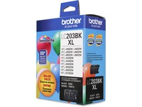 Brother Genuine Innobella LC2032PKS High Yield Black Ink Cartridges