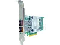 Axiom PCIe x8 10Gbs Dual Port Fiber Network Adapter for Intel