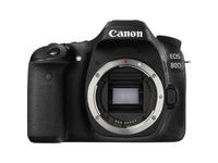 Canon EOS 80D 24.2 Megapixel Digital SLR Camera Body Only - Black