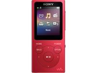 Sony Walkman NW-E394 8 GB Flash MP3 Player - Red