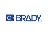 Brady Label/Ribbon Kit - Black, White