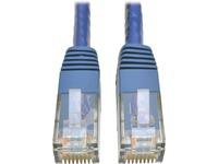 Tripp Lite Cat6 Gigabit Molded Patch Cable (RJ45 M/M), Blue, 10 ft