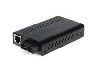 AddOn 10/100/1000Base-TX(RJ-45) to 1000Base-LX(SC) SMF 1310nm 20km Mini Media Converter