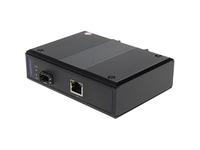 AddOn 1 10/100/1000Base-TX(RJ-45) to 1 Open SFP Port Industrial Media Converter
