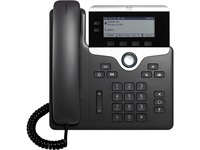 Cisco 7821 IP Phone - Corded - Wall Mountable - Black