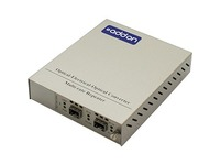 AddOn 1 10/100/1000Base-TX(RJ-45) to 2 Open SFP Ports with Failover Protection Standalone Media Converter Card Kit