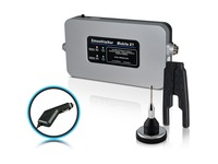 """Smoothtalker Mobile X1 50dB Wireless High Powered Cellular Signal Booster 2"""" Mag Ant"""