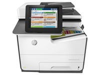 HP PageWide Enterprise 586 586f Page Wide Array Multifunction Printer - Color
