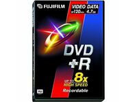 Fujifilm DVD Recordable Media - DVD+R - 8x - 4.70 GB - 6 Pack Video Box