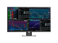 "Dell P4317Q 43"" 4K UHD Edge LED LCD Monitor - 16:9 - Black"