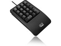 Adesso Antimicrobial Waterproof Numeric Keypad with Wrist Rest Support