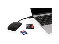 IOGEAR USB-C 3-Slot Card Reader/Writer