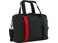 """Acme Made North Point Carrying Case (Attaché) for 15.4"""" Notebook - Matte Black, Tangerine"""