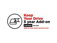 Lenovo Keep Your Drive (Add-On) - 5 Year - Service