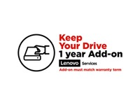 Lenovo Keep Your Drive Add On - 1 Year Extended Service - Service