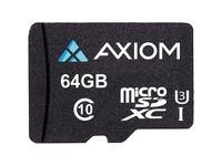 Axiom 64 GB Class 10/UHS-I (U3) microSDXC