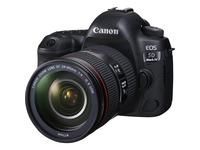 Canon EOS 5D Mark IV 30.4 Megapixel Digital SLR Camera with Lens - 24 mm - 105 mm - Black