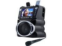 "Karaoke USA GF840 Dvd/cd+g/mp3+g Bluetooth(r) Karaoke System With 7"" Tft Color Screen"