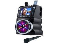 "Karaoke USA GF842 Dvd/cd+g/mp3+g Bluetooth(r) Karaoke System With 7"" Tft Color Screen & Led Sync Lights"