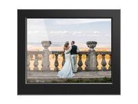 "Aluratek 8"" Slim Digital Photo Frame with Auto Slideshow Feature"