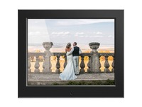 "Aluratek 8"" Slim Digital Photo Frame with Auto Slideshow Feature"