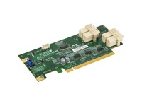 Supermicro Low Profile 12.8 Gb/s Quad-Port NVMe Internal Host Bus Adapter