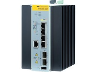 Allied Telesis 4 × 10/100/1000T Ports (PoE+ Support) and 2 × 100/1000X SFP Industrial Switch