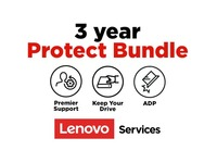 Lenovo On-Site + Accidental Damage Protection + Keep Your Drive + Premier Support - 3 Year Extended Service - Service