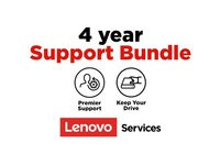 Lenovo On-Site + Keep Your Drive + Premier Support - 4 Year Extended Service - Service