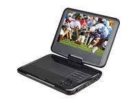 "Supersonic SC-179DVD Portable DVD Player - 9"" Display - 800 x 480 - Black"