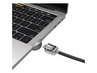 Compulocks Ledge Lock Slot for MacBook Pro TB and Keyed Cable Lock