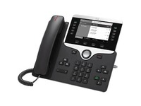 Cisco 8811 IP Phone - Refurbished - Wall Mountable - Black