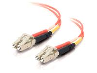 C2G 6m LC-LC 50/125 Duplex Multimode OM2 Fiber Cable - Orange - 20ft