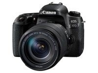 Canon EOS 77D 24.2 Megapixel Digital SLR Camera with Lens - 18 mm - 135 mm