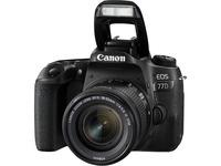 Canon EOS 77D 24.2 Megapixel Digital SLR Camera with Lens - 18 mm - 55 mm