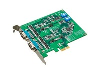 Advantech 2-port RS-232/422/485 PCI Express Communication Card w/Surge