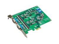 Advantech 2-port RS-232/422/485 PCI Express Communication Card w/Surge & Isolation