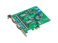 B+B SmartWorx 2-port RS-232 PCI Express Communication Card w/Surge and Isolation