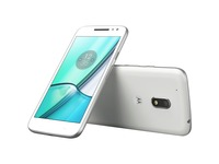 "Motorola Moto G⁴ Play 16 GB Smartphone - 5"" LCD HD 1280 x 720 - 2 GB RAM - Android 6.0.1 Marshmallow - 4G - White"