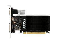 MSI NVIDIA GeForce GT 710 Graphic Card - 2 GB DDR3 SDRAM - Low-profile